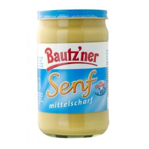 Bautz'ner Senf - Medium hot mustard 250ml