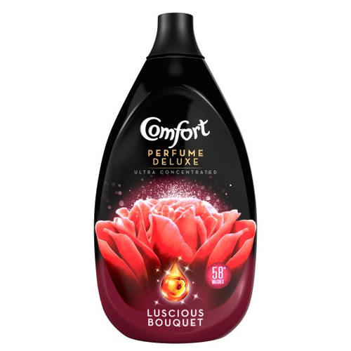 Comfort Perfume Luscious Bouquet Fabric Conditioner 58 Washes 870Ml