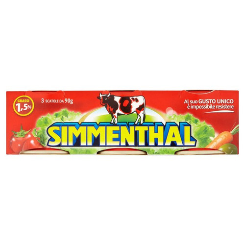 Simmenthal Meat In Jelly 3 X 90g