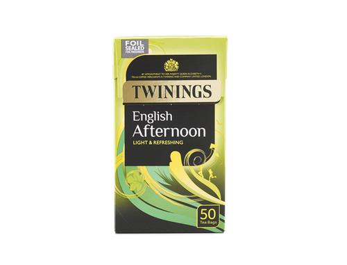 Twinings English afternoon 50 Tea Bags 125g