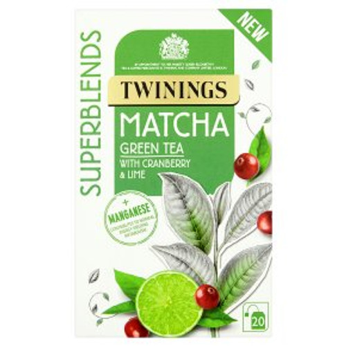 Twinings Superblends Matcha 20 Tea Bags