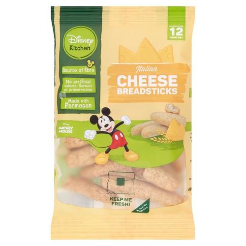 Disney Kitchen Italian Cheese Breadsticks From 12 Months+ 40g