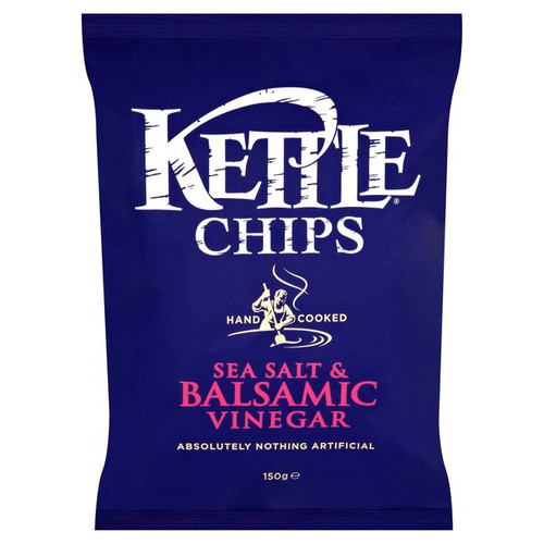 Kettle Chips Balsamic Vinegar And Sea Salt 150g