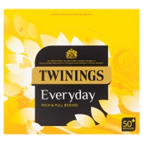 Twinings Everyday Tea Bags 50 envelopes 100g