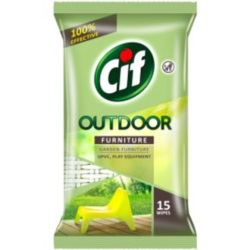 Cif Outdoor Furniture Wipes15s