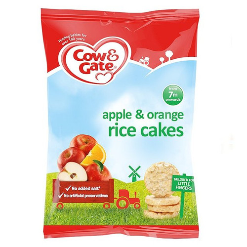 Cow & Gate Apple & Orange Rice Cakes 40g