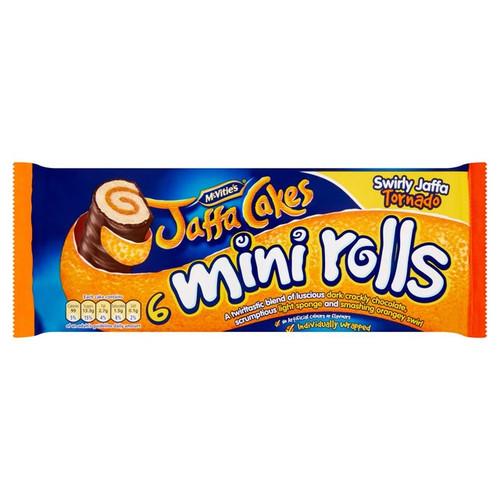 McVitie's Jaffa Cakes Mini Rolls 6 per pack
