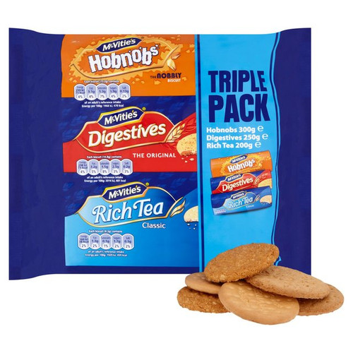McVitie's Triple Pack 750g
