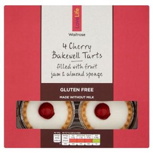 Waitrose LoveLife 4 Bakewell Tarts 180g