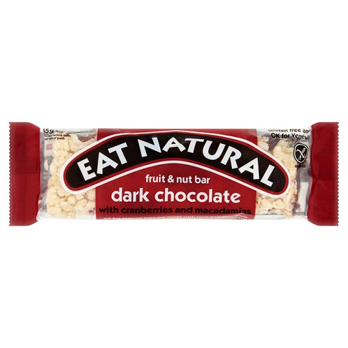 Eat Natural Dark Chocolate Fruit And Nut Bar 45g