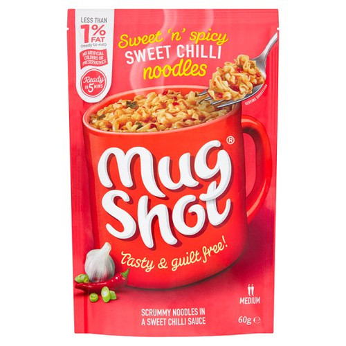 Mugshot Sweet Chilli Noodles 60G