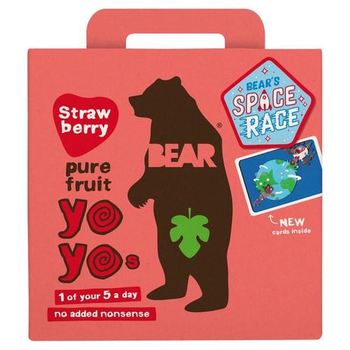 Bear Yo Yo Strawbery 5 Pack 100g