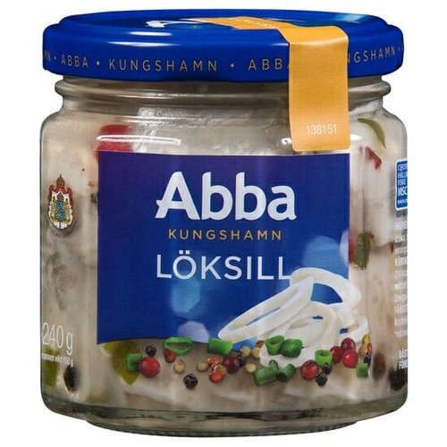 Abba Löksill – Herring With Onion 240g