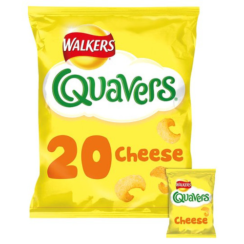 Walkers Quavers cheesy 20 Pack