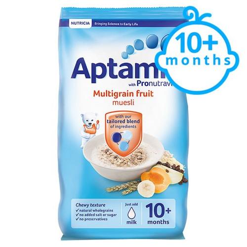 Aptamil Multigrain Fruit Muesli 275G 10 Month+