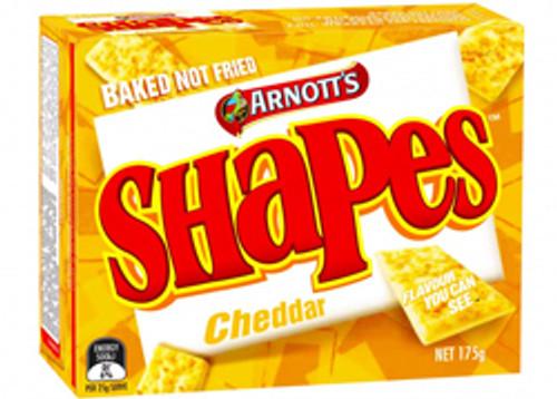 Arnotts Shapes - Cheddar - Original Flavour 175g