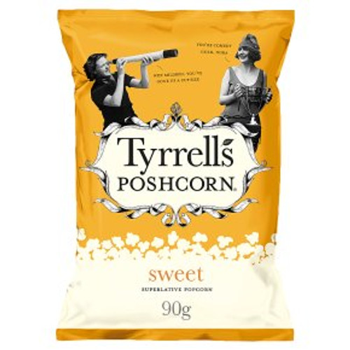 Tyrrells Poshcorn Sweet 90g