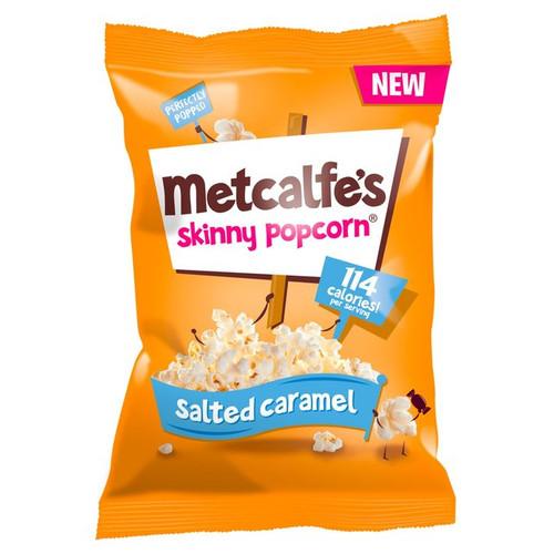 Metcalfe's Salted Caramel Popcorn 75g