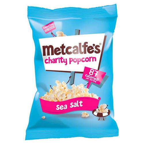 Metcalfe's Charity Popcorn Sea Salt 70g