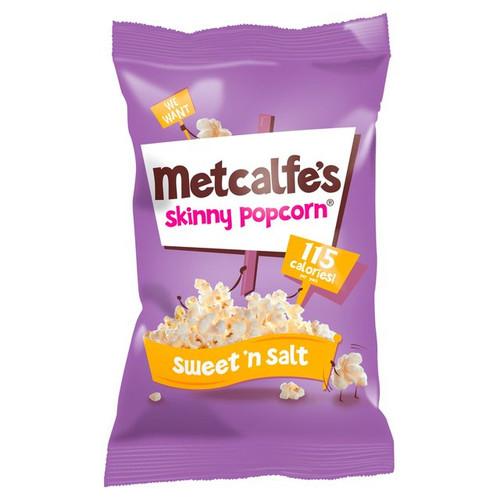 Metcalfe's Skinny Popcorn Sweet 'N Salt 25g