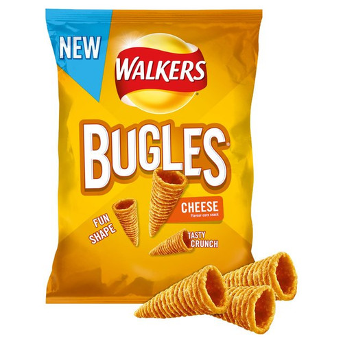 Walkers Bugles Cheese Flavour Snack 110g