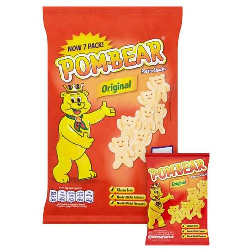 Pom Bear Oringinal Snacks 6 x 15g