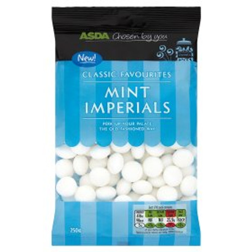 Asda Classic Favourites Mint Imperials 250g