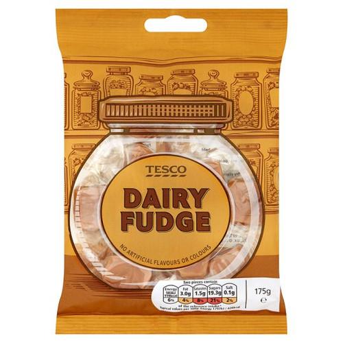 Tesco Dairy Fudge 175g