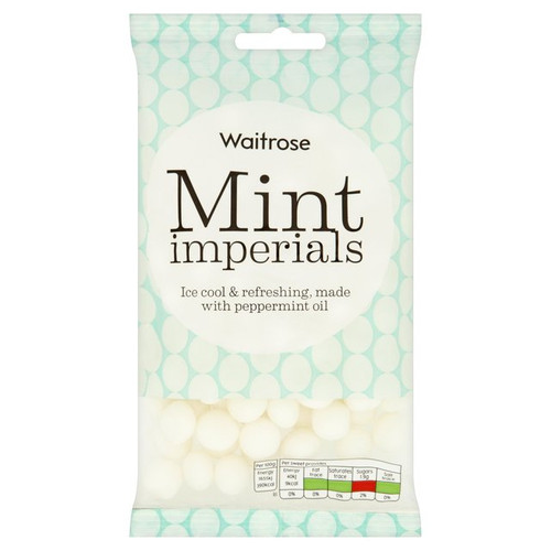 Waitrose Mint Imperials 225g