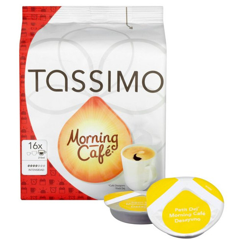 Tassimo Morning Cafe 16 Discs
