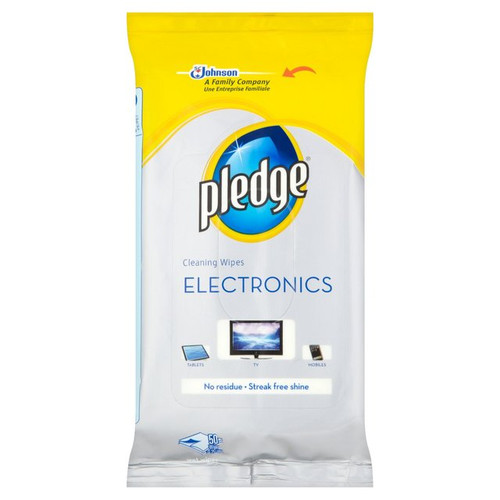 Pledge Cleaning Wipes for electronics