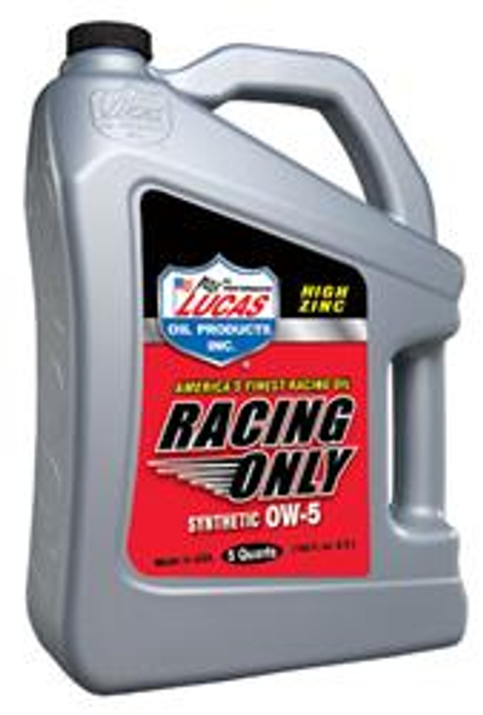 Lucas Synthetic Racing Oil 0W-%