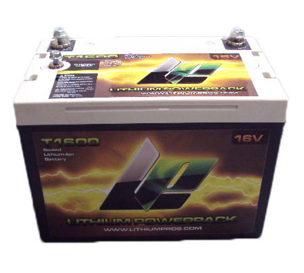 Lithium Powerpack T1600 16V Battery