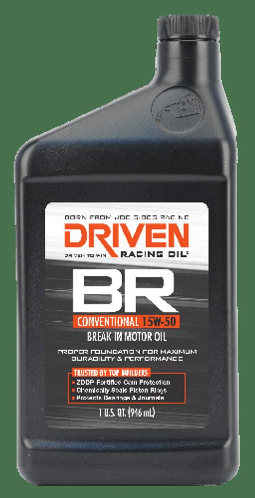 Driven BR Break in Oil
