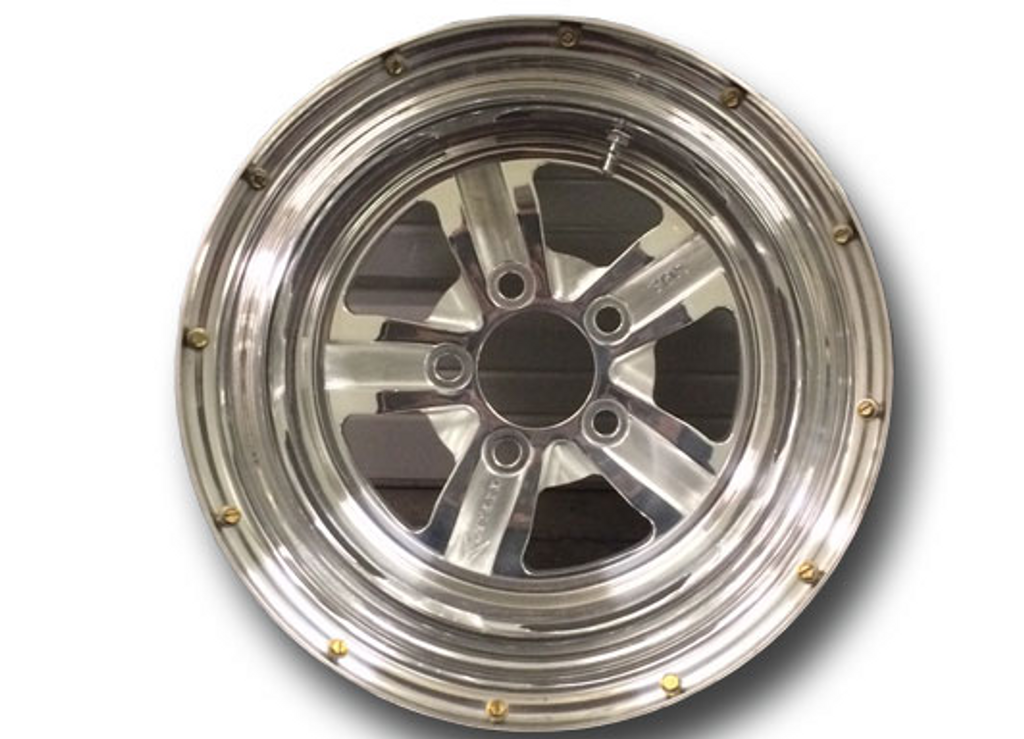 Bogart racing copo style rear wheel