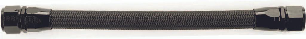 XRP 3106-00 #6 XR-31 LT Weight Nylon Braided Race Hose-Black