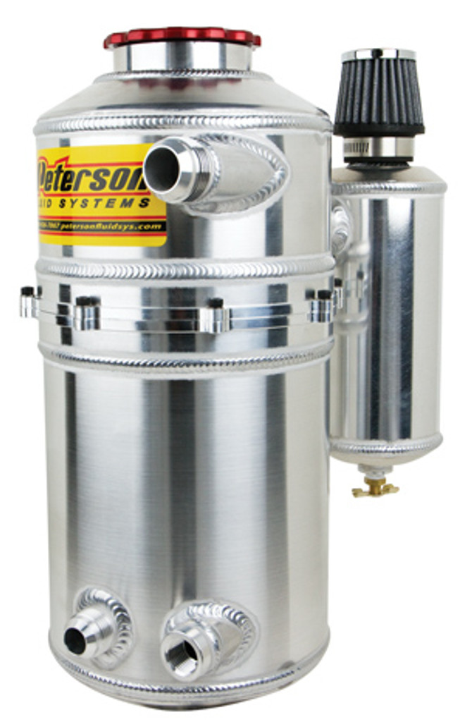 """Peterson 7"""" Dual Breather Drag Tank"""