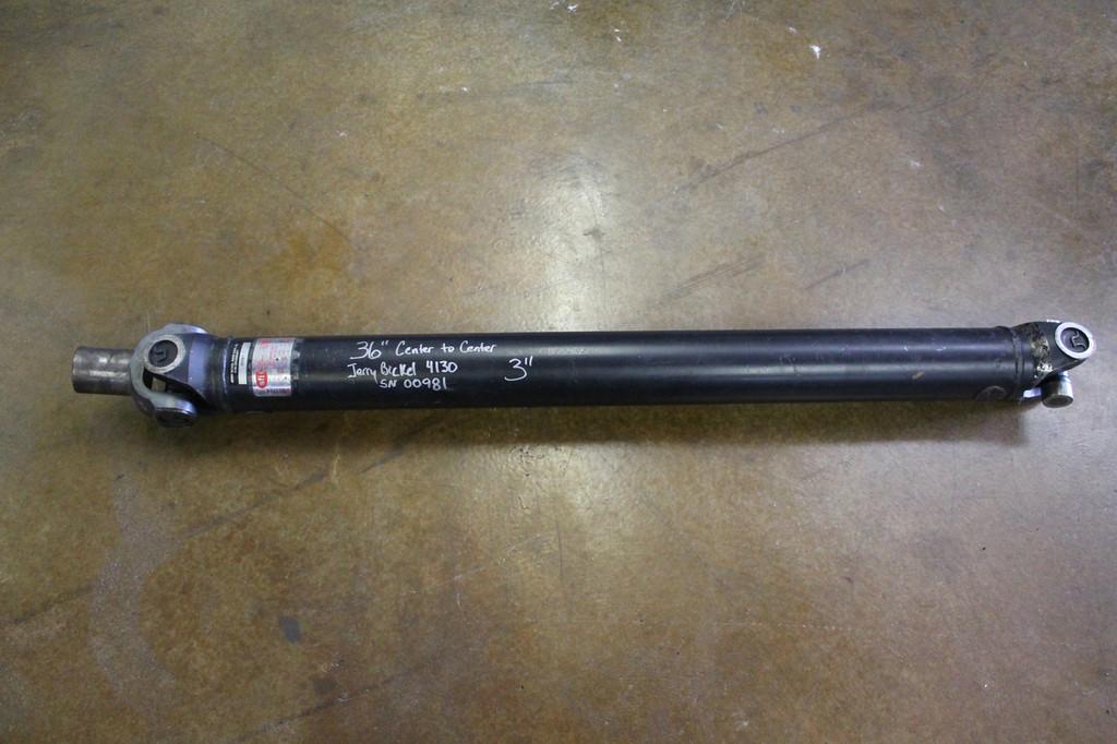 """3"""" Diameter 4130 Steel Driveshaft (Used)"""
