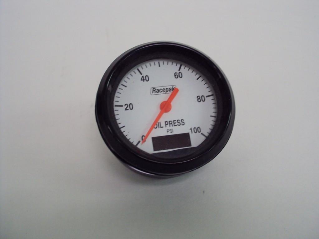 Racepak -  Oil Pressure Gauge 0-100 - Used