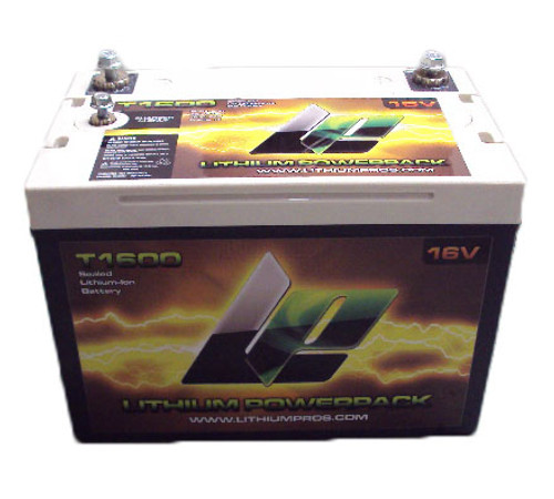 Lithium Powerpack T1600 16V Battery
