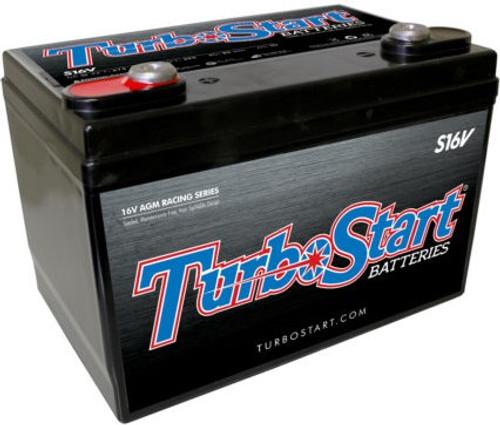 TurboStart 16V AGM Race Battery