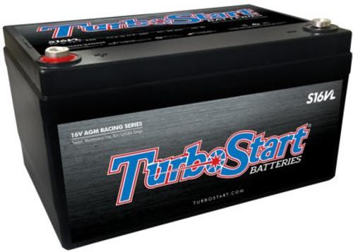 TurboStart 16V Light Weight AGM Race Battery