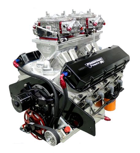 565 C.I. Aluminum Block 18° Engine