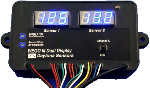Daytona Sensors WEGO 3 Dual Channel Wide-band AFR Tuning Kit 112005