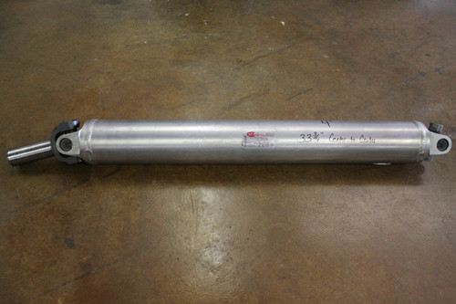 "4"" Diameter Alum. Driveshaft (Used)"