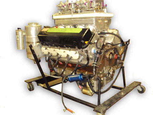 500ci Book Pro Stock Engine with Carburetors