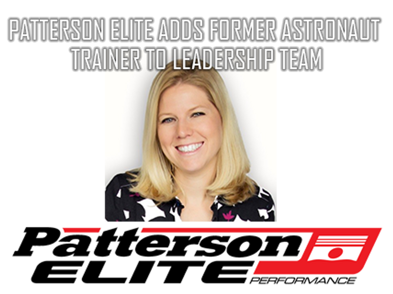 Patterson Elite Adds Former Astronaut Trainer to Leadership Team