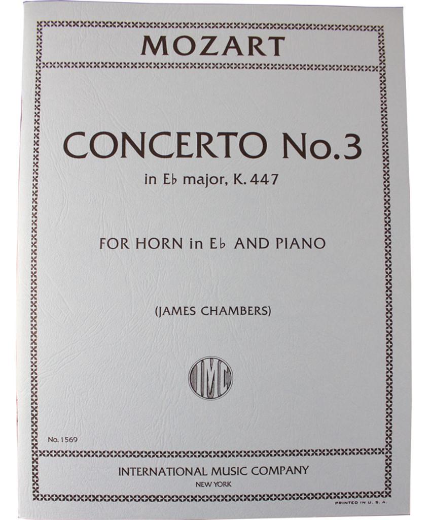 Mozart Horn Concerto No.3