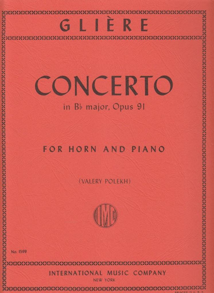 Gliere, Concerto In Bb