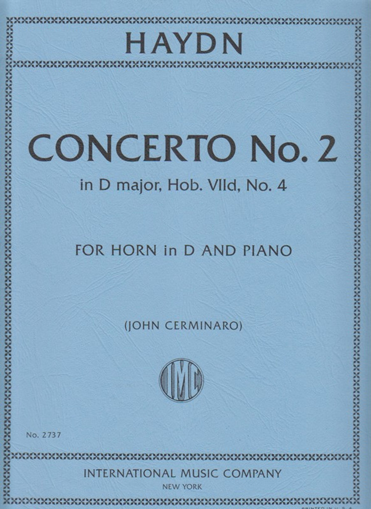 Haydn, Concerto No. 2